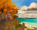 Glorious Autumn on Traverse Bay