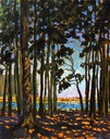 Cooling Shadows in the Pines SOLD