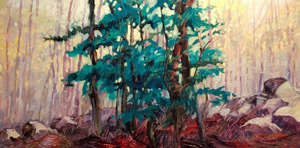 Mountain Forest 10x20 $1050