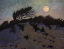 Supermoon over Asseateague Dunes 11x14 $1100